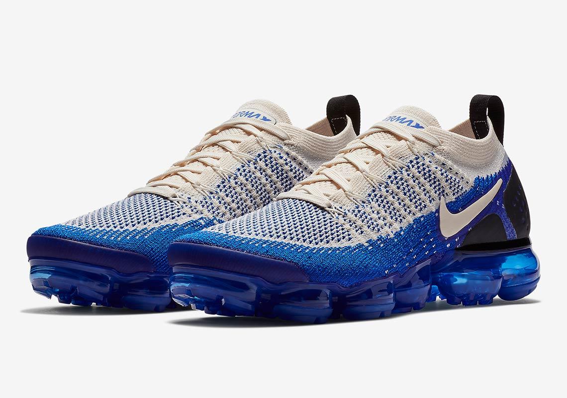 buy popular 25644 c0593 Nike Vapormax 2 Cream Blue 942842-204 Release Info ...