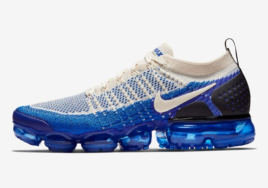 Nike Vapormax Flyknit 2 In Cream And Racer Blue Releases Soon