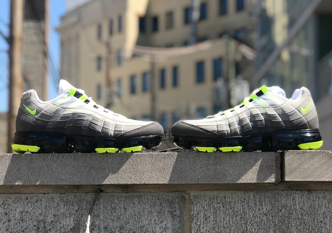 a6580e2203d Nike Vapormax 95 Neon AJ7292-001 Release Date