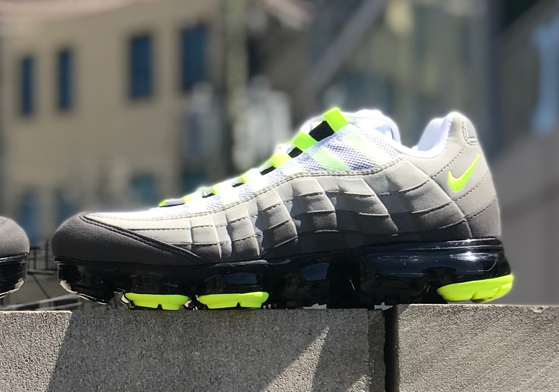 """03ae19625cf The Nike Vapormax 95 """"Neon"""" Is Releasing On August 16th"""