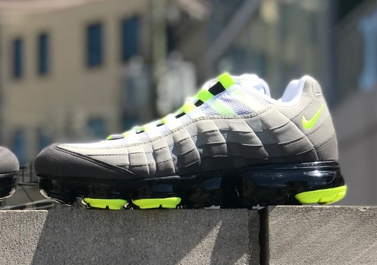 """The Nike Vapormax 95 """"Neon"""" Is Releasing On August 16th"""