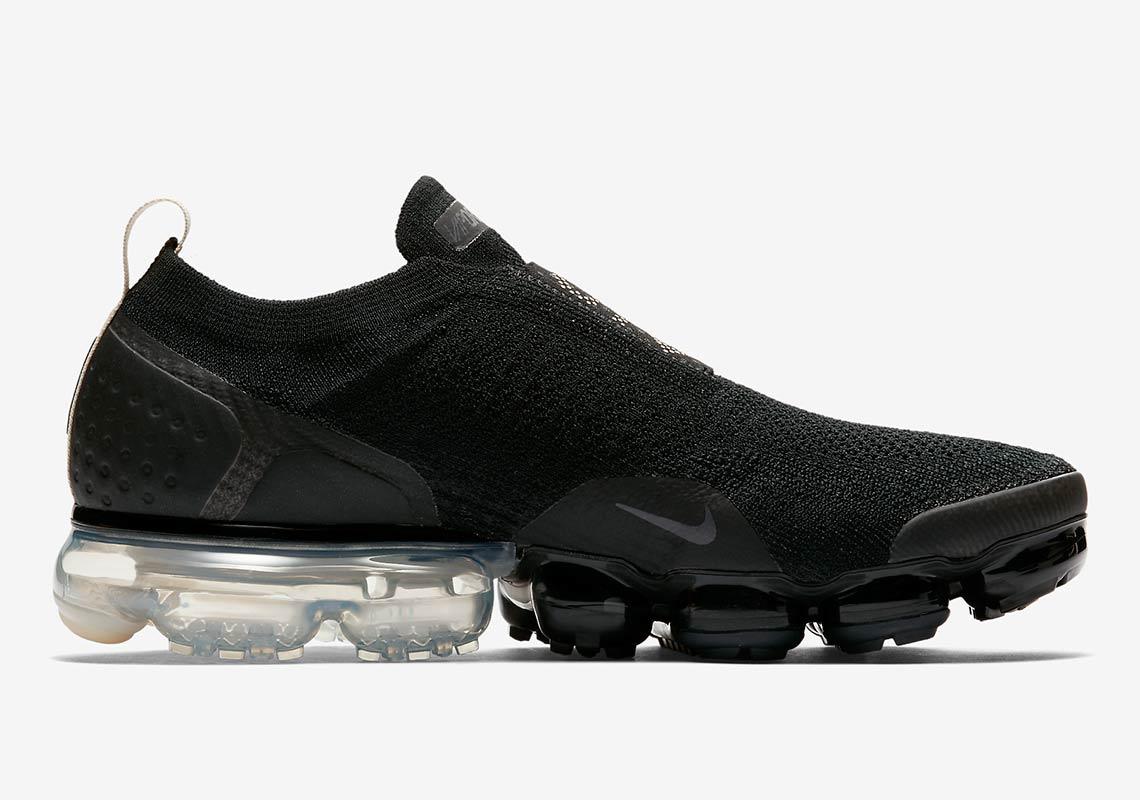 80ebfb30f6366 Nike Vapormax Moc 2 Black Cream AH7006-002 Release Info ...