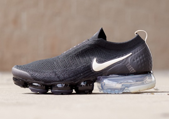 The Nike Vapormax Moc 2 Is Back In Black And Light Cream