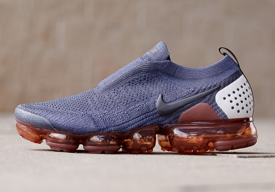 "The Nike Vapormax Moc 2 Is Releasing In ""Gunsmoke"""