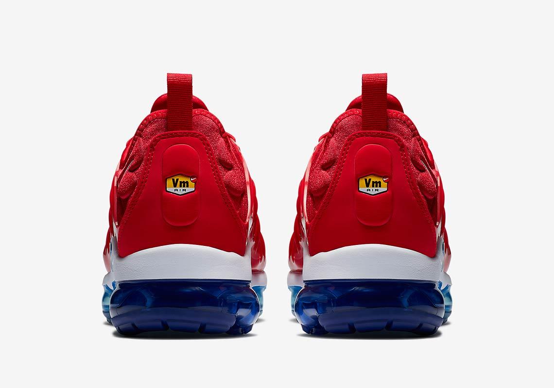 factory authentic 6fdac f61c9 Nike Vapormax Plus Firecracker/USA 924453-601 | SneakerNews.com