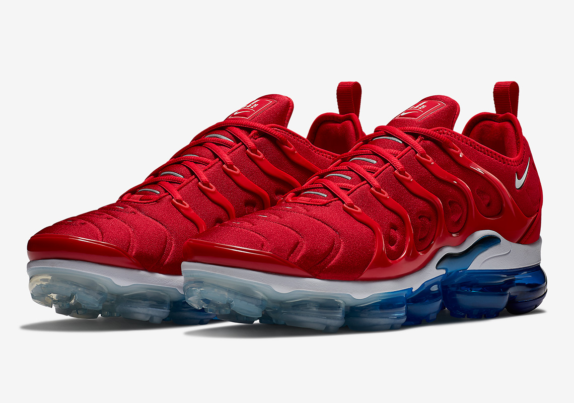 factory authentic d14f1 ca524 Nike Vapormax Plus Firecracker/USA 924453-601 | SneakerNews.com