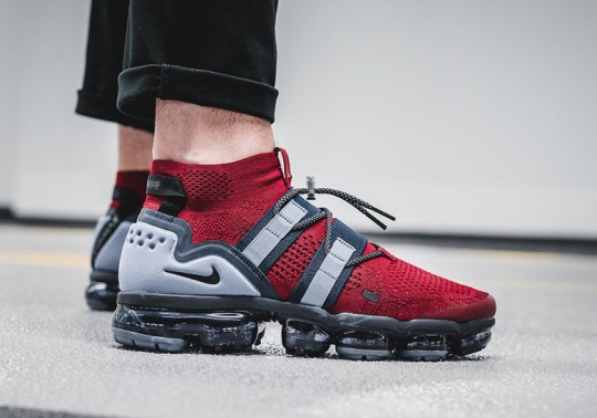 Yet Another Nike Vapormax Utility For Patriots Fans