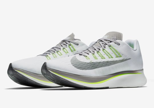 The Nike Zoom Fly Releases In A Sporty Grey And Volt