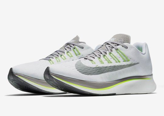 52b1721bb4aef The Nike Zoom Fly Releases In A Sporty Grey And Volt