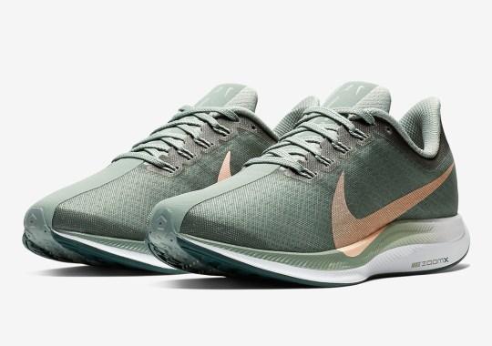 "Nike Zoom Pegasus 35 Turbo Releasing In ""Mica Green"""