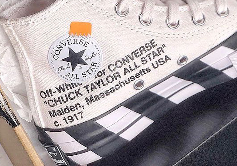 443b9f48a9f7af New Images Of The Off-White x Converse Chuck Taylor In Black And White  Emerge
