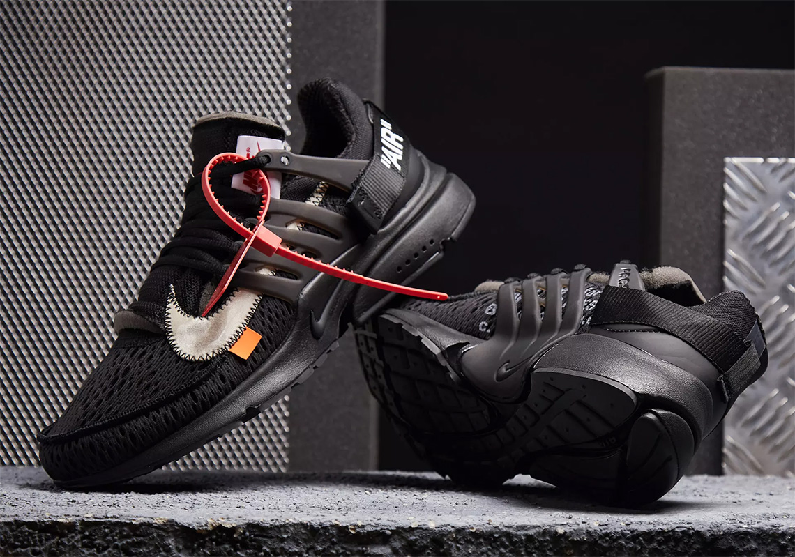 "the latest aca8b c5e77 Where To Buy The Off-White x Nike Presto ""Polar Opposites – Black"""
