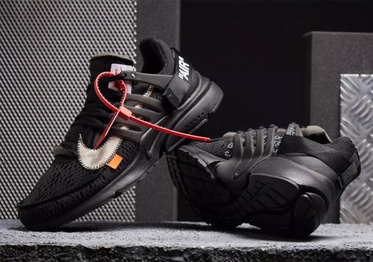 "the latest af562 015c3 Where To Buy The Off-White x Nike Presto ""Polar Opposites – Black"""