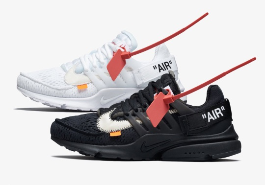 Official Images Of The Off-White x Nike Presto