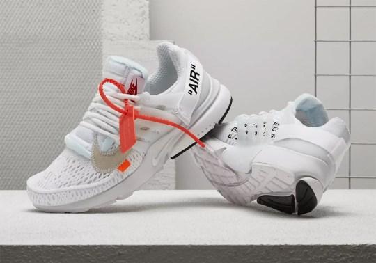 """Where To Buy: Off-White x Nike Presto """"Polar Opposites – White"""""""