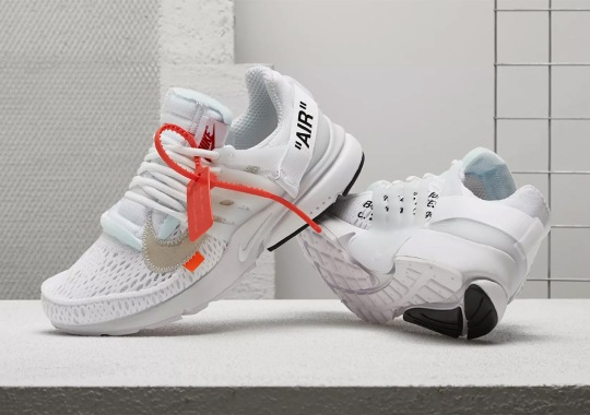 "Where To Buy: Off-White x Nike Presto ""Polar Opposites – White"""