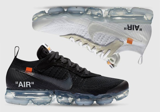 Off-White x Nike Vapormax Restocking Through LVR Sneakers Club