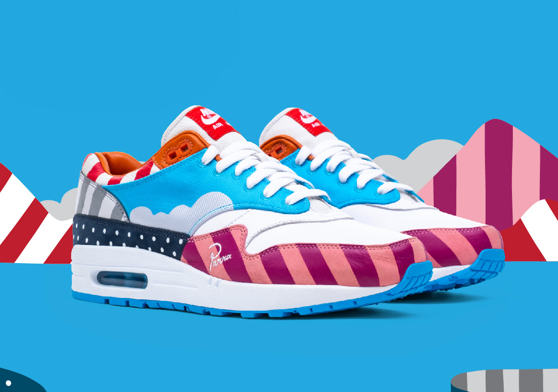 the best attitude 36e98 c4810 Parra Nike Air Max 1 Full Release Info | SneakerNews.com