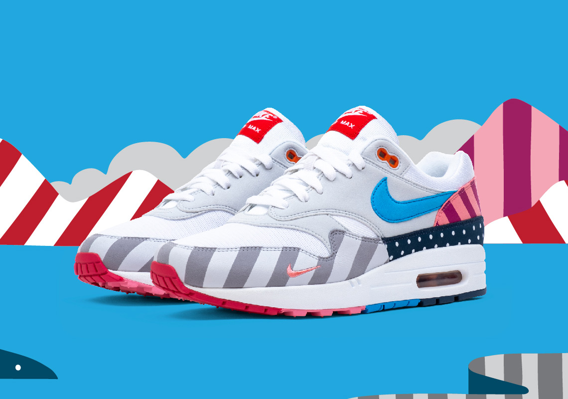 free shipping 10bba ecdcc Update  Nike x Parra collection Where to Buy List. Advertisement. Parra x Nike  Air Max 1