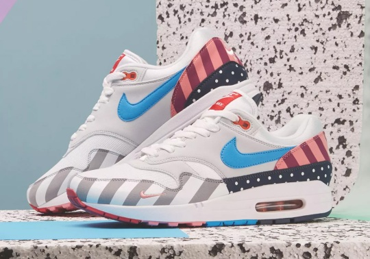 Where To Buy The Parra x Nike Air Max 1 + Spiridon