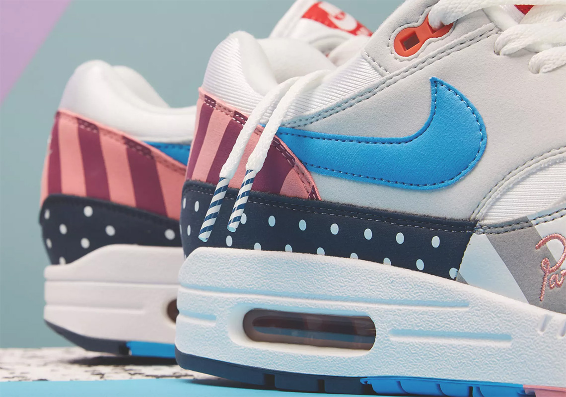 timeless design bfdc6 f59f9 Where To Buy The Parra x Nike Air Max 1 + Spiridon ...