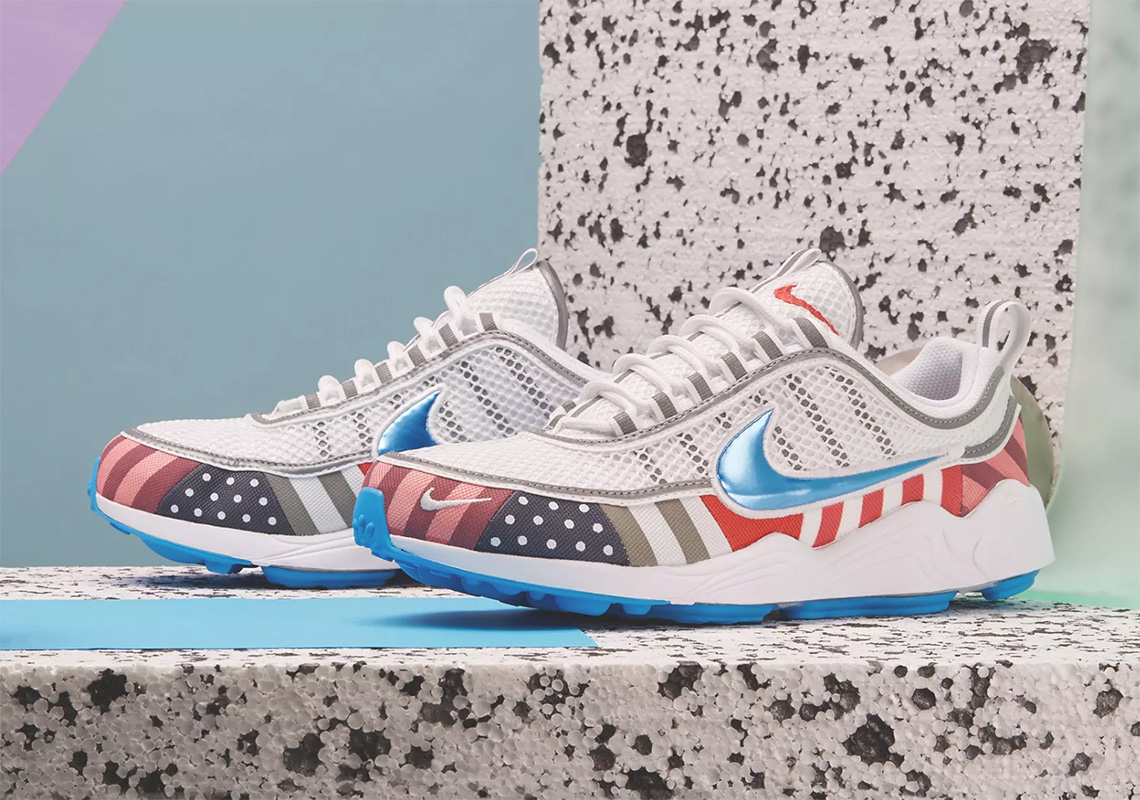 timeless design 47202 557b6 Where To Buy The Parra x Nike Air Max 1 + Spiridon ...