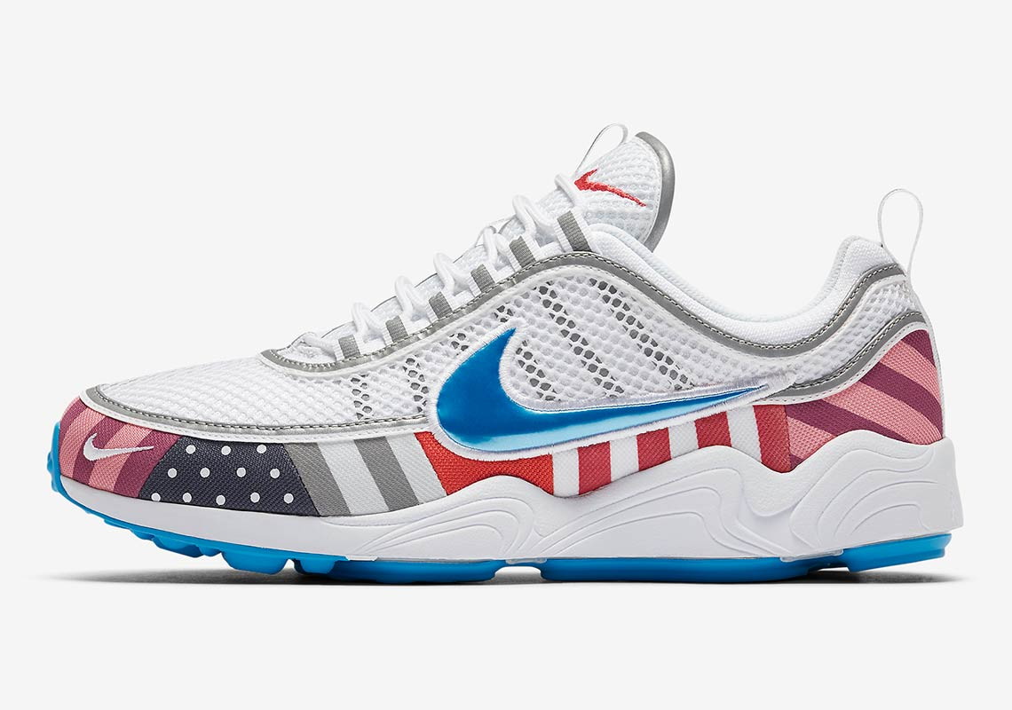 0178d8e6dcc50 Parra And Nike Color Up The Zoom Spiridon For Upcoming Collaboration