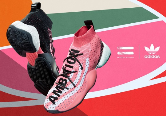 Pharrell's adidas BYW LVL X Releases On July 13th