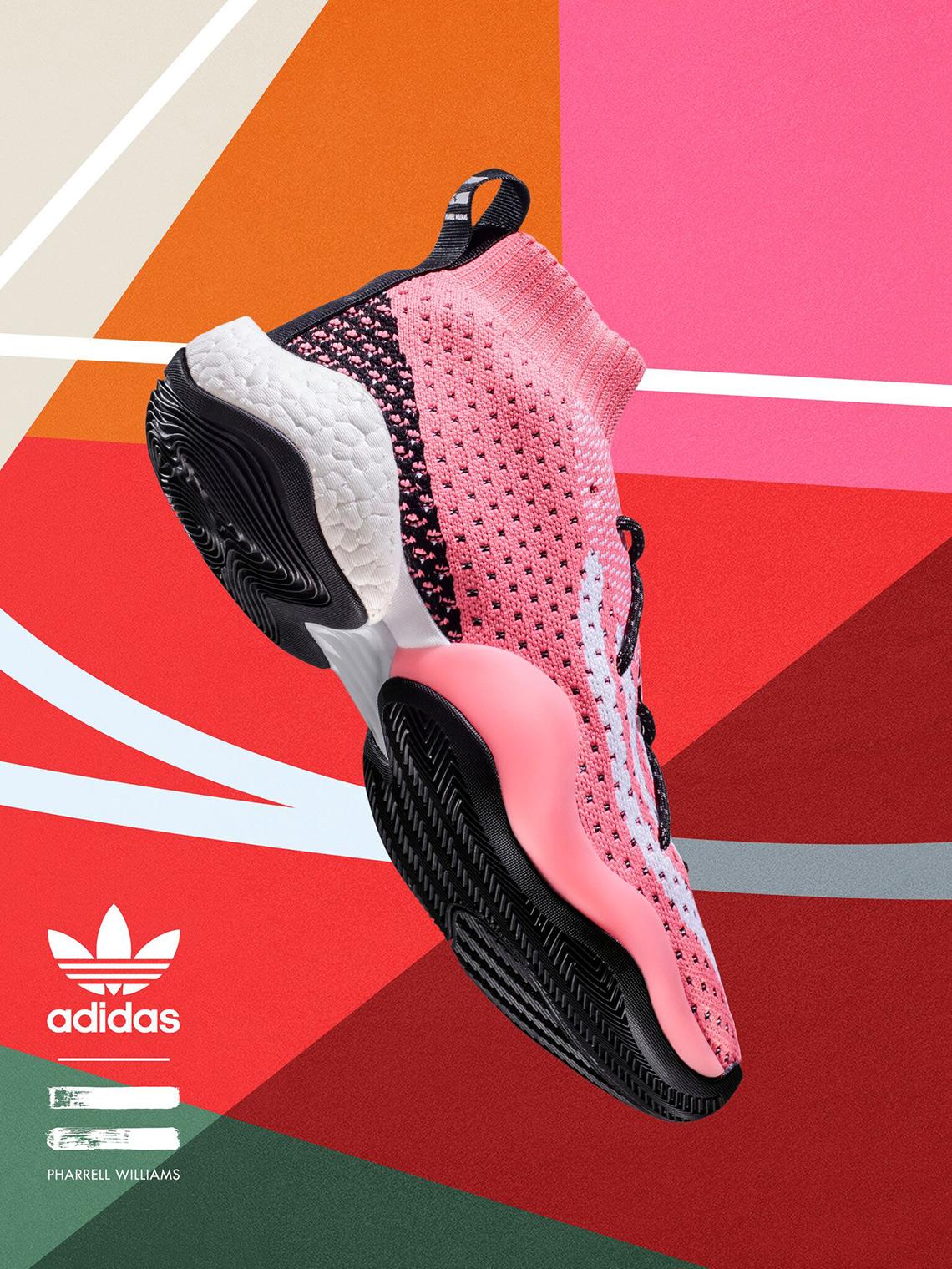2ca51b2decc23 Pharrell x adidas Crazy BYW