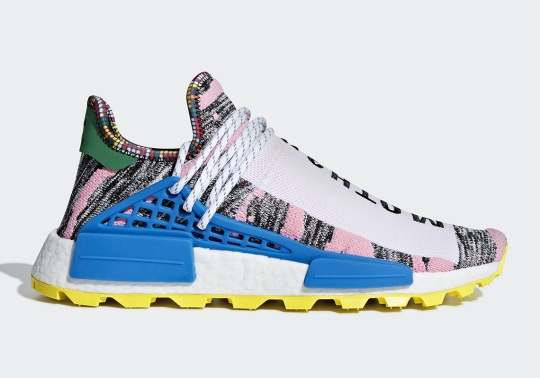 "This Pharrell x adidas NMD Hu Honors ""MOTH3R"""