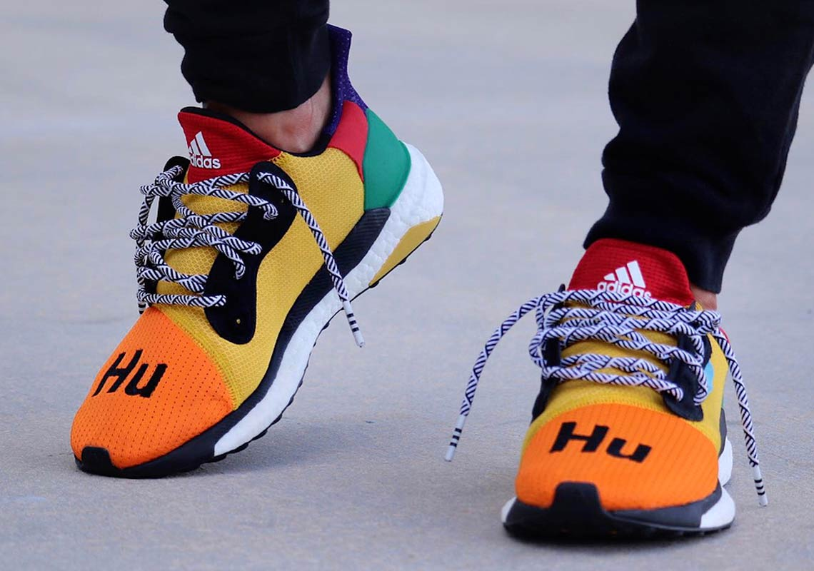 Adidas Pharrell Ultra Boost Hu Solar Release Info