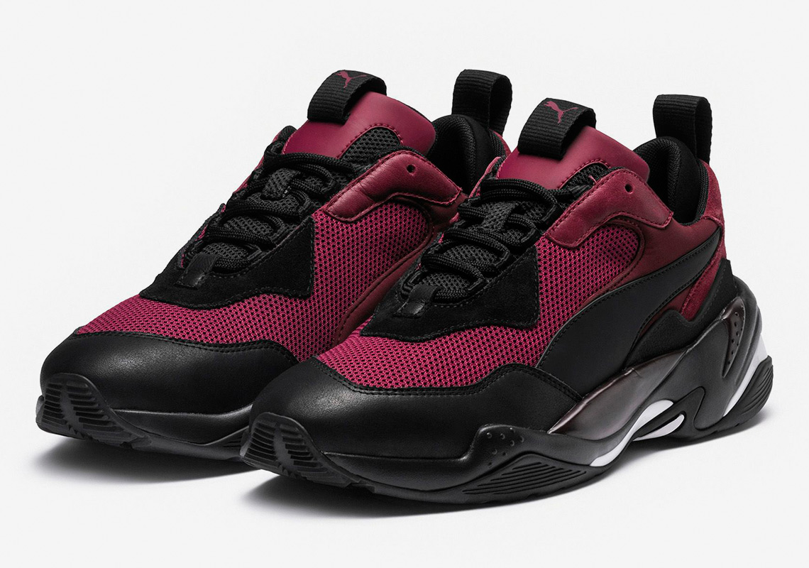 063b71365371 The Puma Thunder Spectra Returns In Burgundy And Black