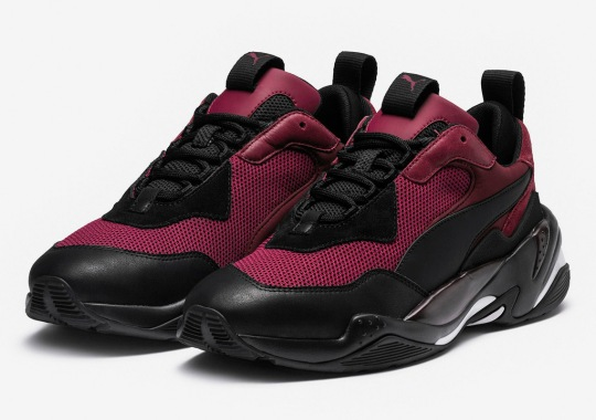 The Puma Thunder Spectra Returns In Burgundy And Black