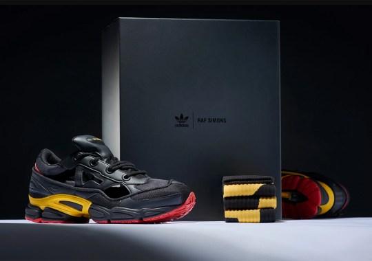 Raf Simons' Belgium Inspired adidas Ozweego Replicant Is Releasing Soon