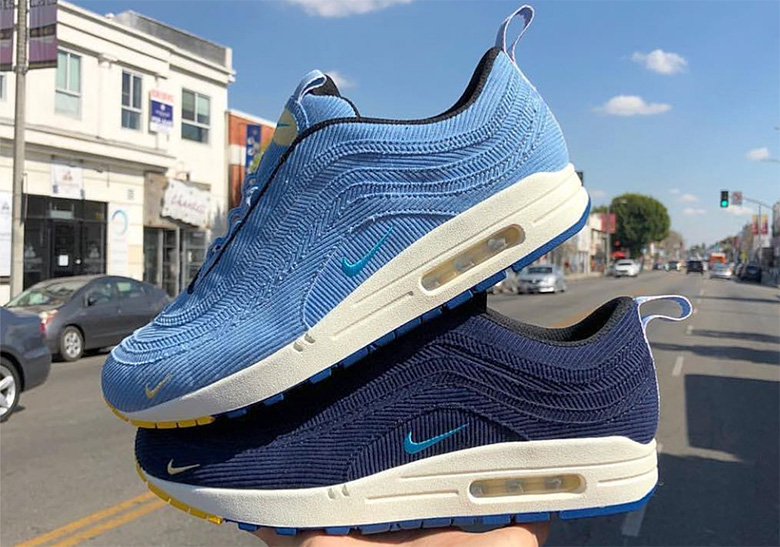 3946f3aeae42 Sean Wotherspoon Nike Air Max 97 1 Sample Photos