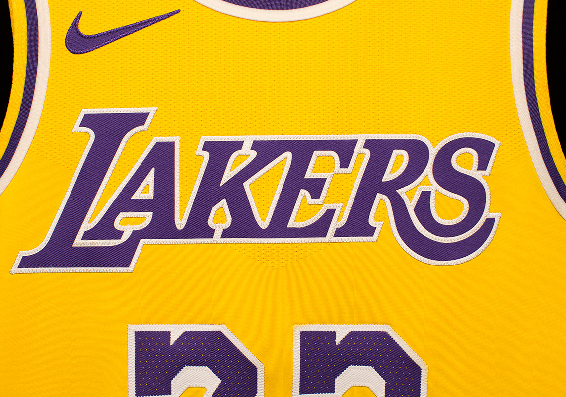 check out 6247c 58738 Nike Showtime Lakers Jersey LeBron James | SneakerNews.com