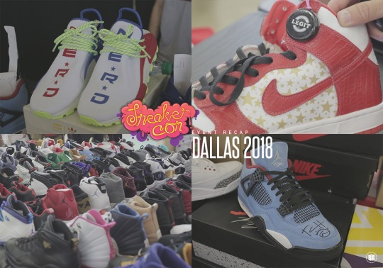 Texas Came Out In Force For Sneaker Con Dallas