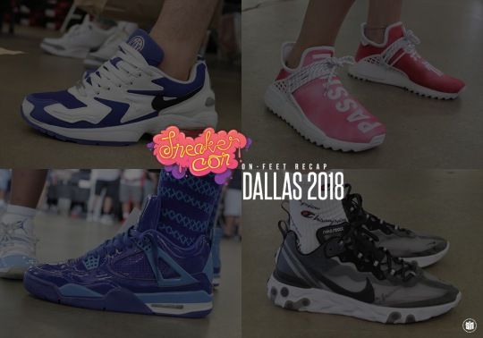 What Was On Feet At Sneaker Con Dallas
