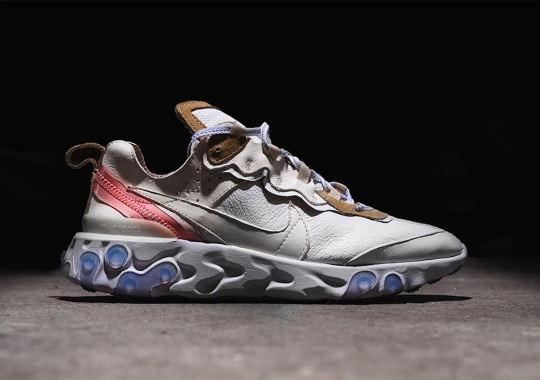 Would You Cop The Nike React Element 87 In Leather?