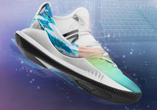 You Can Now Make Your Own UA Curry 5 Colorway Through ICON Platform