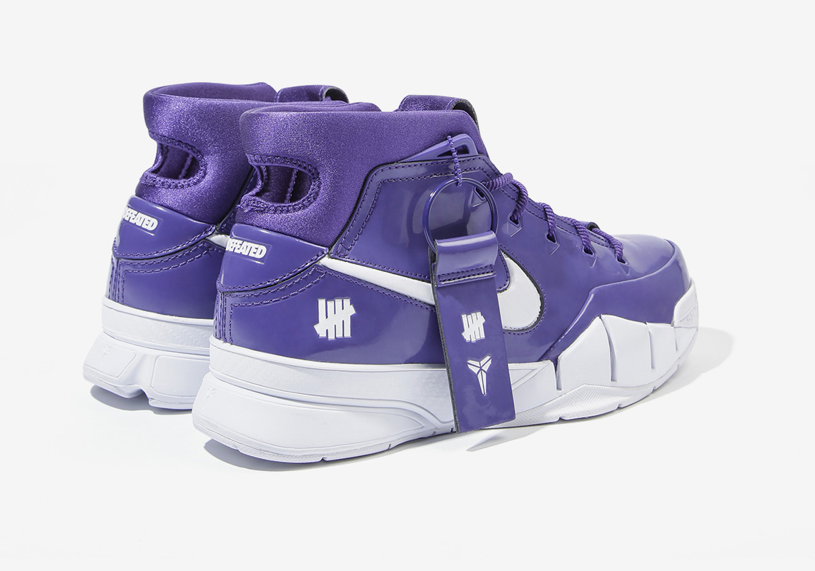 "7287868c1a9 UNDEFEATED And Nike To Drop Super Limited Zoom Kobe 1 Protro In ""Kobe Purple """