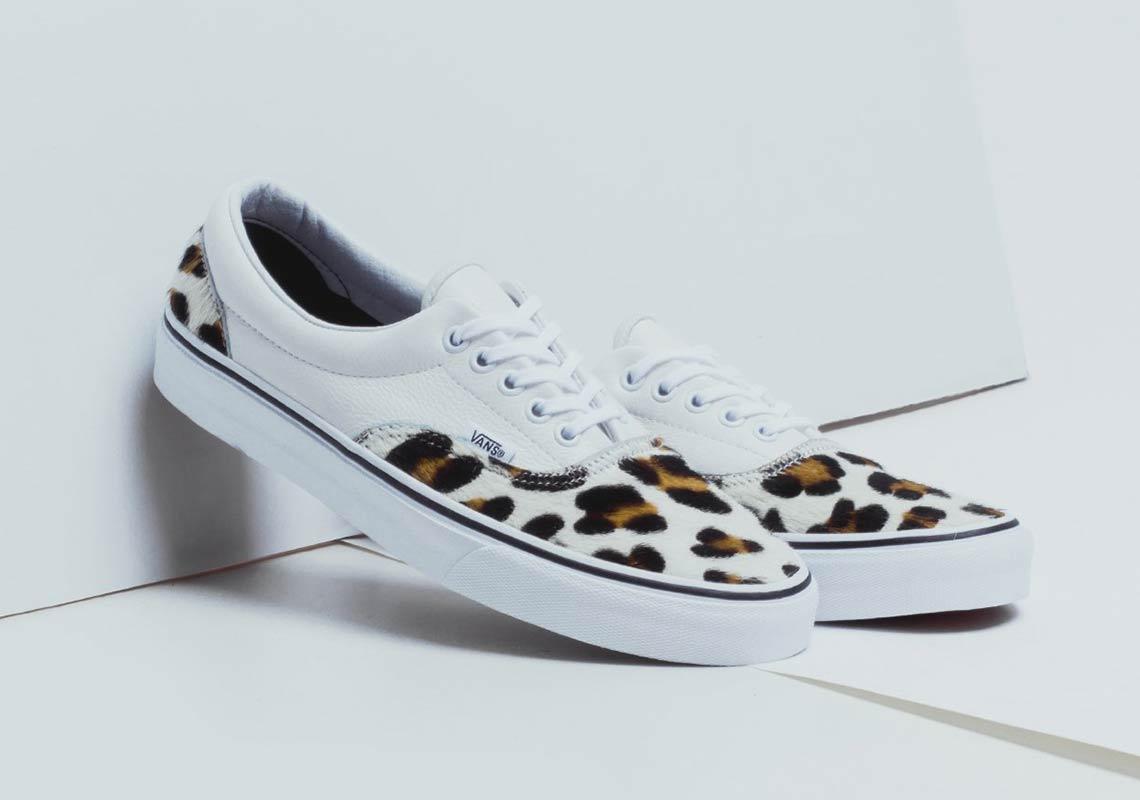 Black White Leopard Shoes
