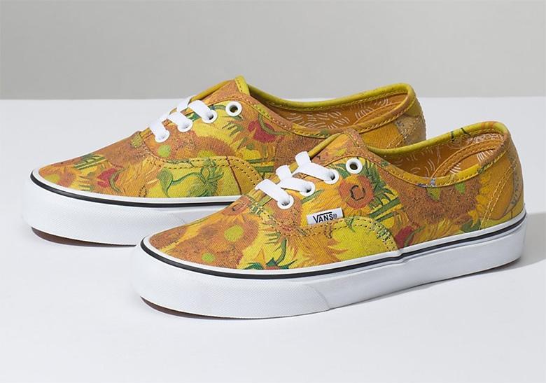 2f5404f01bbf7f Van Gogh Vans Shoes - First Look + Release Info