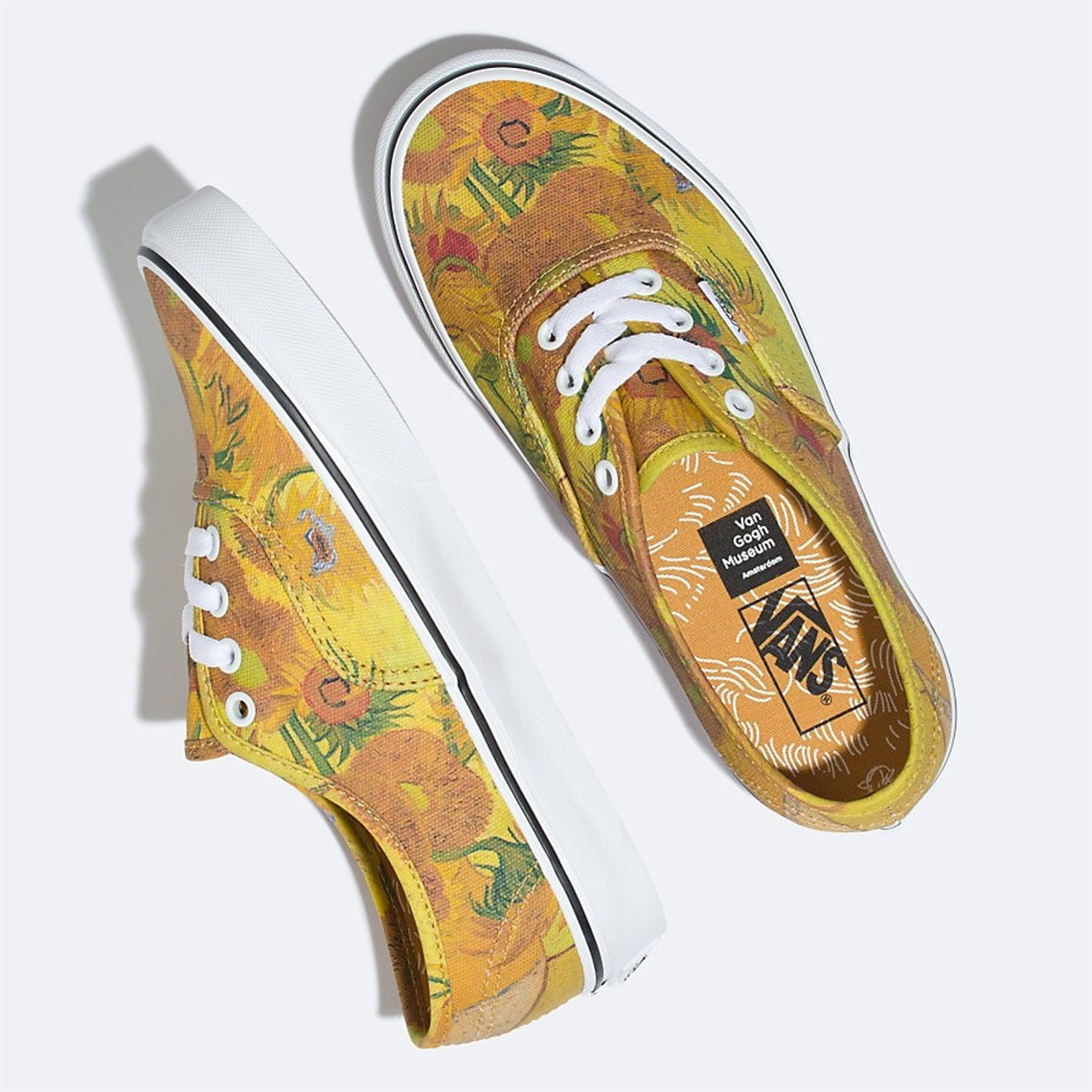 ab9a3197c0ef2d ... Van Gogh x Vans collection is set to be made at the aforementioned  museum. Enjoy a first look at the Authentic silhouette that is slated to  arrive on ...