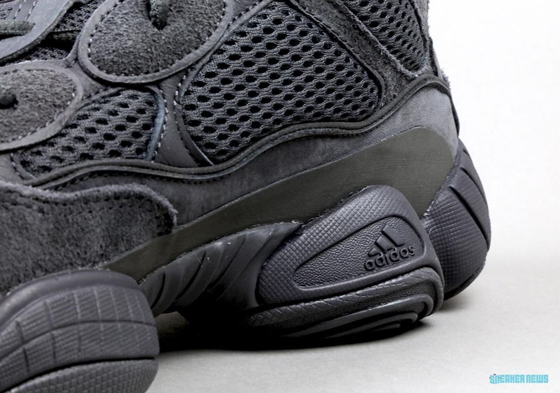 brand new 7d0f7 844de adidas Yeezy 500 Utility Black - Unboxing Video   SneakerNews.com
