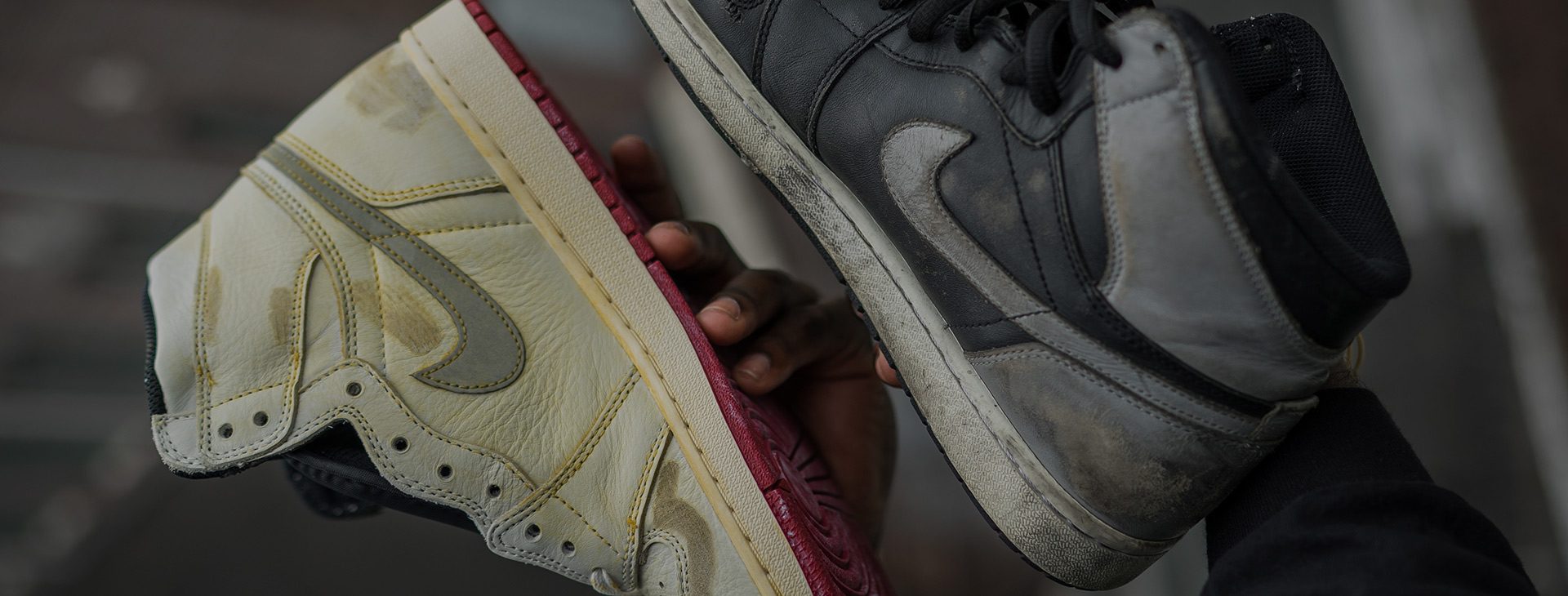 Nigel Sylvester Reveals The Destroyed Air Jordan 1s That Inspired His  Collaboration 0cf8df8af