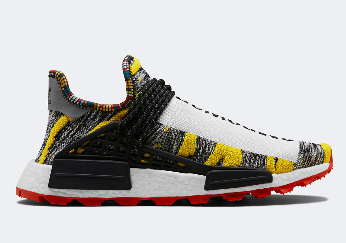 b066ed6421dd5 Pharrell adidas Solar Hu NMD Shoes Buyers Guide