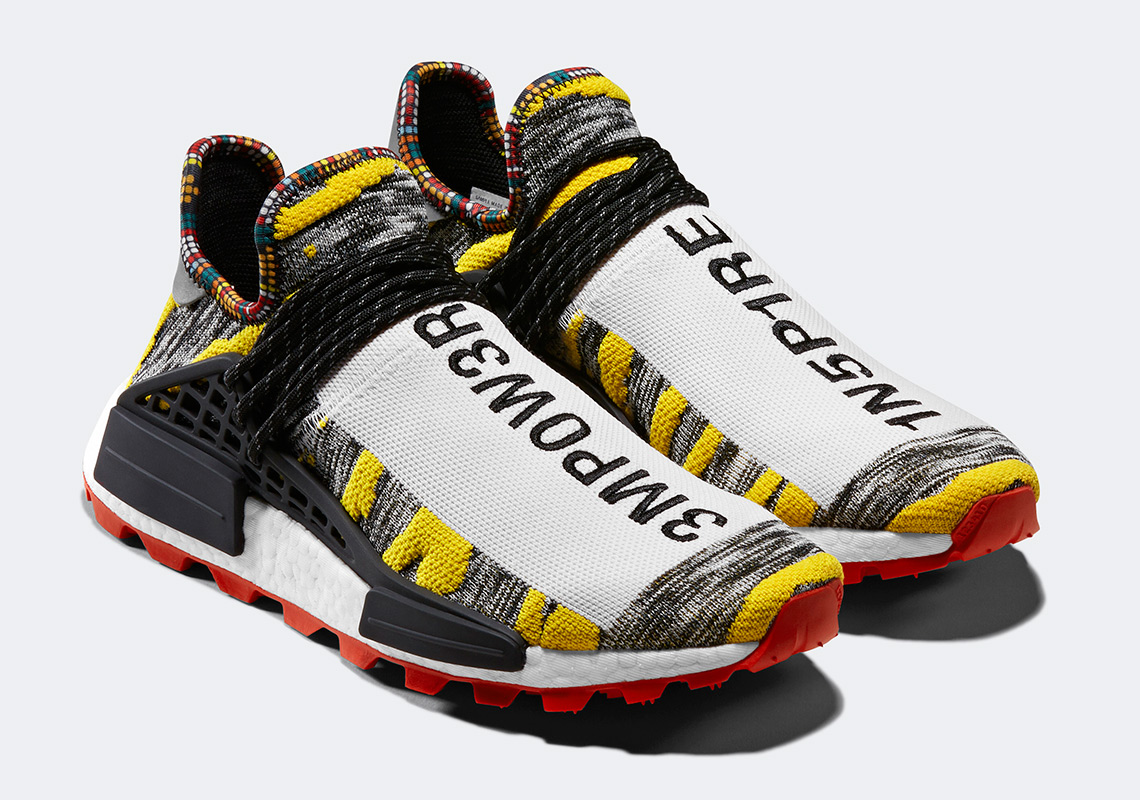 0a0c381bb2363 Pharrell adidas Solar Hu NMD Shoes Buyers Guide