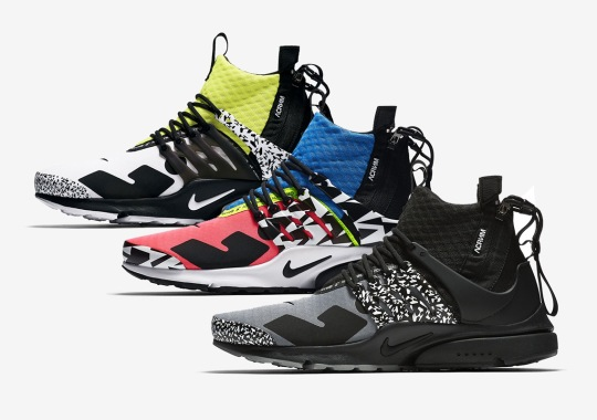 ACRONYM's Next Nike Presto Mid Collaboration Is Revealed