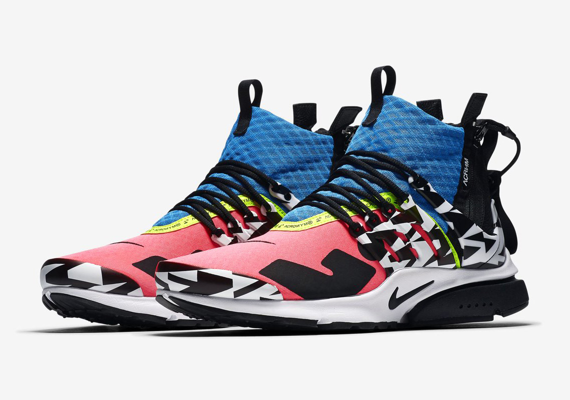 ACRONYM Revisits Their Nike Presto Mid With New Colors And Patterns